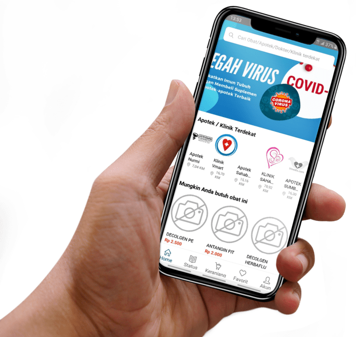 Gambaran Aplikasi Apotek Mobile