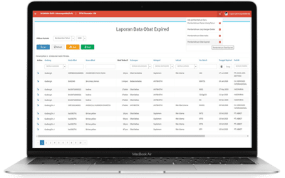Aplikasi Apotik sumber sehat di netbeans