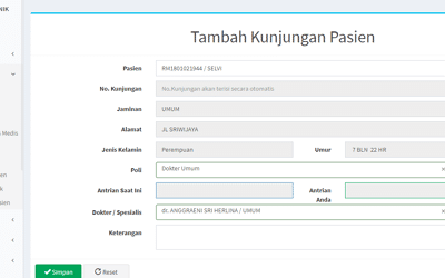 Software Antrian Klinik