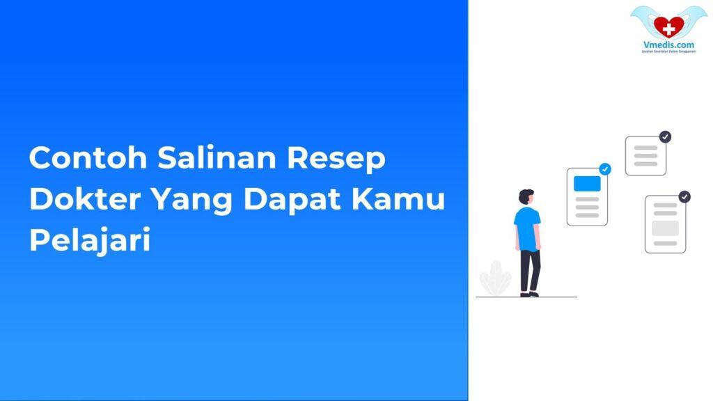 Contoh Salinan resep dokter